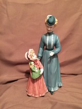 Vintage Homco Home Interiors Mother & Daughter Figurine 8812 - $19.79
