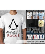 T shirt Assassins Creed Rogue Many Color & Design Option - $10.99+