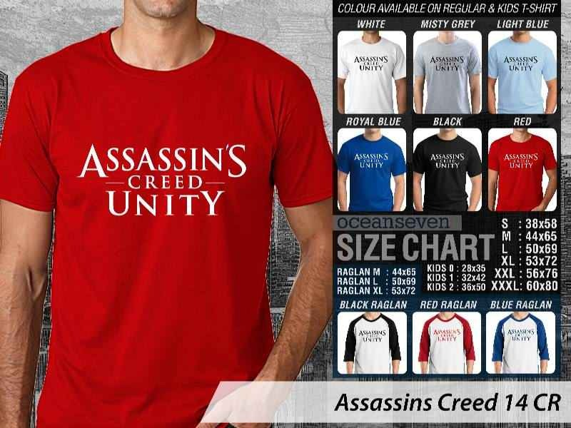 T shirt Assassins Creed Unity Many Color & Design Option