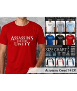T shirt Assassins Creed Unity Many Color & Design Option - $10.99+