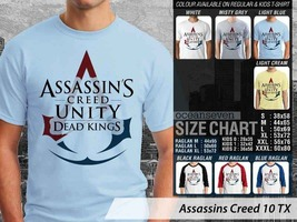 T shirt Assassins Creed Dead Kings Many Color & Design Option - $10.99+
