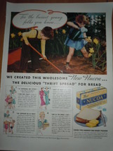 Nucoa The Delicious Thrift Spread for Bread Print Magazine Ad 1937 - $9.99