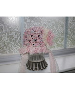 BABY GIRL PASTEL PHOTO PROP HAT WITH OFF WHITE ... - $15.00