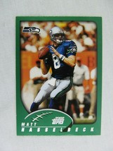 Matt Hasselbeck Seattle Seahawks 2002 Topps Football Card 71 - $0.98