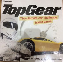 Top Gear Official Board Game -The Ultimate Car Challenge - $8.55