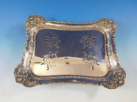 Chrysanthemum by Tiffany & Co. Sterling Silver Asparagus Tray Pierced (#0147) - $17,500.00