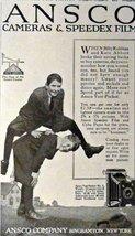 "Ansco Cameras. 1916 Print Advertisment. B&W Illustration, 5 1/2"" x 9"" Pr... - $11.87"