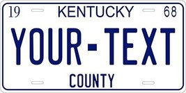 Kentucky 1968 Personalized Tag Vehicle Car Auto License Plate - $16.75