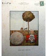 "Rodney Thomson + N.A., 1918 B&W Illustration 8 1/2""x11"" Print art (Life ... - $19.79"