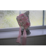 BEAUTIFUL BABY GIRL PIXIE HAT WITH PINK ACCENTS... - $15.00