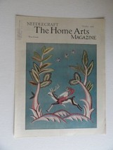 Needlecraft The Home Arts Magazine, October,1934 (cover only) [birds,wom... - $24.74