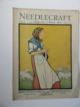 M. Jones, Needlecraft Magazine, 1931 (cover only) cover art by M. Jones/... - $26.72