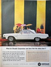 "1964 Dodge Polara 500, 60's full page Color Illustration, 10 1/4"" x 13 1/2"" P... - $19.99"