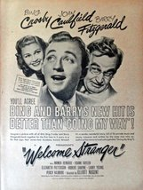 "Welcome Stranger, 40's Full Page Color Movie Illustration, 8 1/2"" x 11"" Movie... - $14.85"