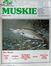 Scott Zoellick, Muskie magazine cover art [cover only] Color Illustratio... - $14.84