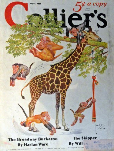 Primary image for Lawson Wood, Collier's magazine art,1935 cover art by Lawson Wood [cover only...