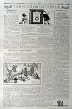 The Children's Page, December 28,1916, the Youth's Companion [745]. Stories, ... - $16.82