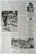 The Children's Page, August 24, 1916, the Youth's Companion [473]. Stories, P... - $16.82