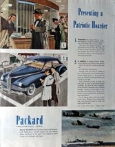 "1945 Packard, 40's Print Ad. Color Illustration 10 1/2"" X 13 1/2"" Print ... - $12.86"