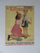 Liberty Magazine, 1940 (cover only) cover art, little boy fell down,little gi... - $14.84