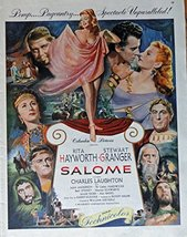 Salome, original movie poster, 50's Print Ad. Color Illustration (Rita Haywor... - $14.84