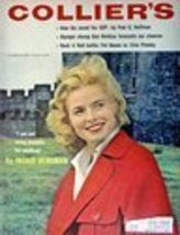 (Ingrid Bergman) Collier's Magazine, 1956 [cover art only], Illustration... - $14.84
