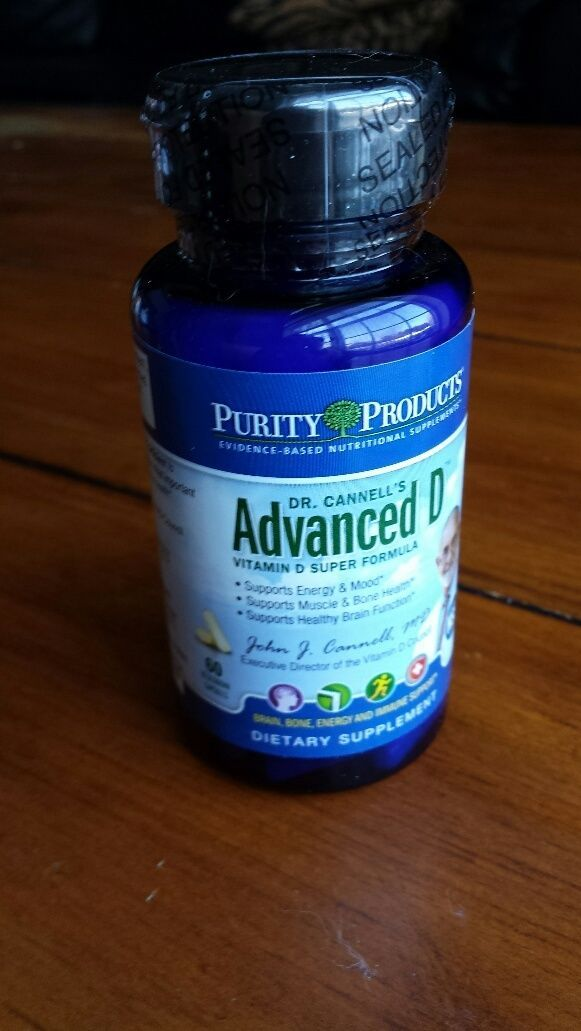 Dr. Cannell's Advanced D by Purity Products...60 capsules - $42.52