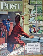 Stan Ekman, art, The Saturday Evening Post Magazine Cover art, Color Ill... - $14.84