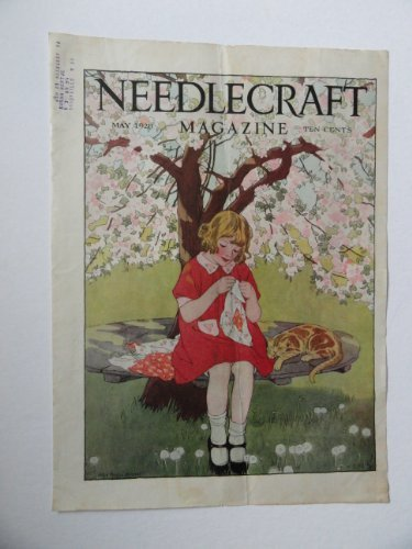 Primary image for Needlecraft Magazine, May, 1929 (cover and story on cover,see pix.) cover art...