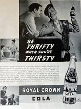 "Royal Crown Cola, Print advertisment. 30's B&W Illustration, 10 1/4"" x 13 1/2... - $12.86"