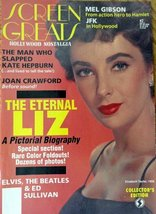 "Liz Taylor, Magazine Cover, color Illustration 7 3/4"" x 10 3/4"" Magazine Cove... - $12.86"
