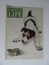 James Lulasaty, Child Life Magazine art,1941 (cover only) cover art by J... - $16.82