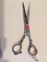 Washi Scissor Japanese 440C steel Rosebud hair shears cut salon equipment - $190.00