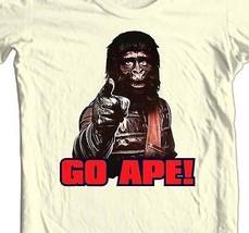 Planet of the Apes 1970's GO APE T shirt retro original movie 100% cotton tee image 1