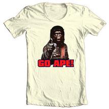 Planet of the Apes 1970's GO APE T shirt retro original movie 100% cotton tee image 2