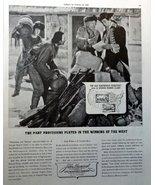 "John Hancock Life Insurance, 40's B&W Illustration, 10 1/2"" x 13 1/2"" Pr... - $12.86"