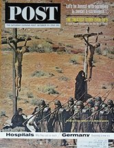Hollywood's version of a Biblical scene, 60's Magazine Cover art, Color ... - $13.81