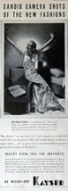 "Kaysler Hosiery, Print advertisment. 30's B&W Illustration, 5 1/2"" x 13 1/2"" ... - $12.86"