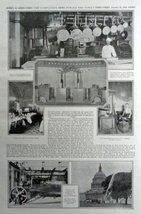 "United States Capitol. 1916 Print Ad. Full Page B&W Illustration 11"" X 1... - $15.83"