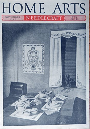 Primary image for Breakfast Table Setting, 40's B&W Illustration, cover art, Very Rare Authenti...