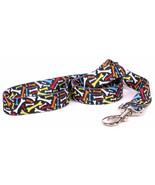 Small/Medium 5 foot Crazy Bones Standard Dog Leash - $15.99