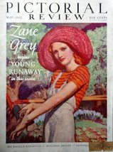 "Barclay, 30's Color Illustration 10 1/4""x13 1/2"" Cover Print art, (woman with... - $19.79"