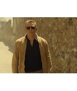 JAMES BOND SPECTRE BROWN BLOUSON MOROCCO REAL SUEDE LEATHER JACKET - $111.99