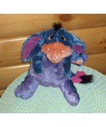 "Winnie Pooh Eeyore Plush Disney 16"" Floppy Pose-Me Hug-Me Fisher-Price S... - $10.49"