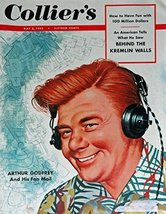 Hess, 50's Magazine Cover art, Color Illustration (Arthur Godfrey) Origi... - $17.81