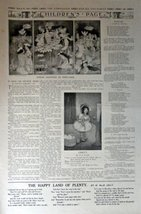 "Children's Page,March 27,1913 #169 The Youth's Companion 10 1/2"" x 16"" B&W Il... - $13.85"