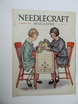Alice Beach, Needlecraft Magazine, 1929 (cover only) cover art by Alice ... - $17.99