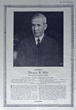 Thomas B. Mills, 30's picture (past grand exalted ruler) Original Vintage 193... - $12.86