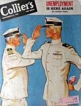 Lieut.(jg) Karl Kilroy, Collier's magazine,1945 cover art by Lieut.(jg) ... - $15.83