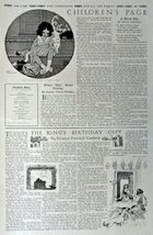 The Children's Page, June 1,1916, The Youth's Companion [309]. Stories, Puzzl... - $16.82